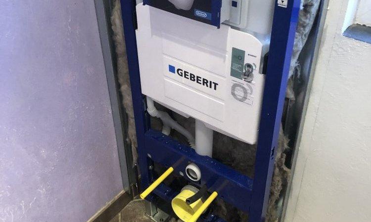 Bati-support auto-portant de marque GEBERIT pour le qualité et la longévité de vos installations